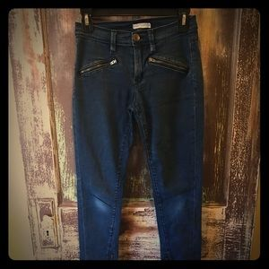 ANTHROPOLOGIE Silence & Noise Ankle Zip Jeans 27